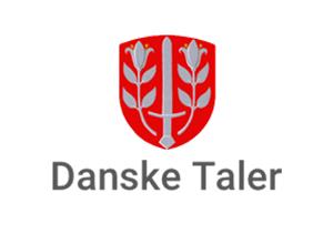 Logo for Danske Taler