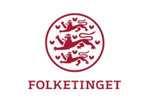 Logo for Folketinget